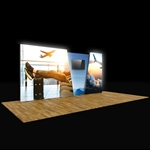 20ft Vector Lightbox Media Backlit Display