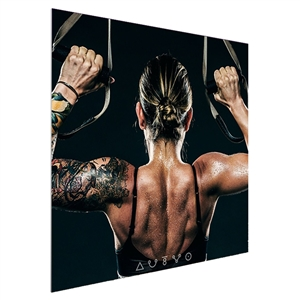 Vector Frame 4 ft x 4 ft Fabric Poster Display S-04 [Graphics only]