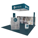 Voyager 20X20 Tension Fabric Trade Show Exhibit Kit