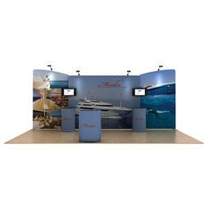 Marlin 20 ft WaveLine Media Display [Graphics only]