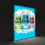 WAVELIGHT LED BACKLIT TRADESHOW DISPLAY - 8FT [GRAPHICS ONLY]