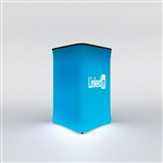WaveLight Air Backlit Inflatable Square Tradeshow Counter [Complete]