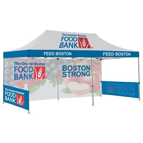 Zoom 10u0027 x 20u0027 Tent [With Backwall/ Sidewall]  sc 1 st  APG Exhibits & 10x20 Canopy Tent with Sidewalls | Custom Pop Up Tent