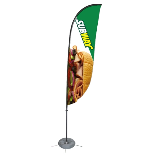 13 FT Feather Zoom 4 Flag  [Graphics Only]