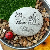 Fairy Pebble - Shhh Fairies Sleeping