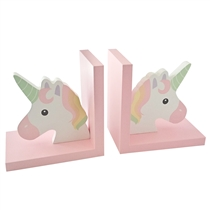 Unicorn Bookends Set of 2 (x18)