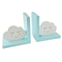 Blue Clouds Bookends Set of 2 (x18)