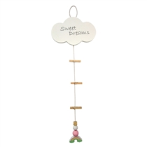 Hanging Photo Peg String with Rainbow (x48)