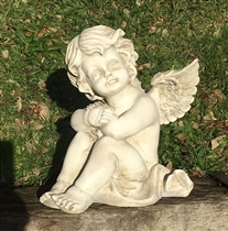 26cm Sitting Cherub Head on Arms (x4)