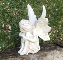 26cm Sitting Fairy Head on Arms (x4)