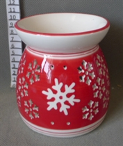 Snowflake Cutout Wax Melter / Oil Burner<p>DUE SEPTEMBER (x27)
