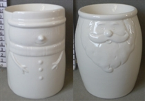 Santa/Snowman Wax Melter / Oil Burner - 2 Assorted<p>DUE SEPTEMBER (x36)