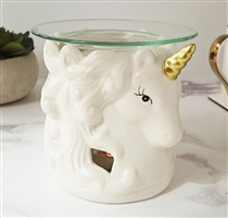 Unicorn Head Wax Melter / Oil Burner - White<p>DUE SEPTEMBER (x24)