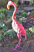 Francis the Metal Flamingo 99cm (x4)