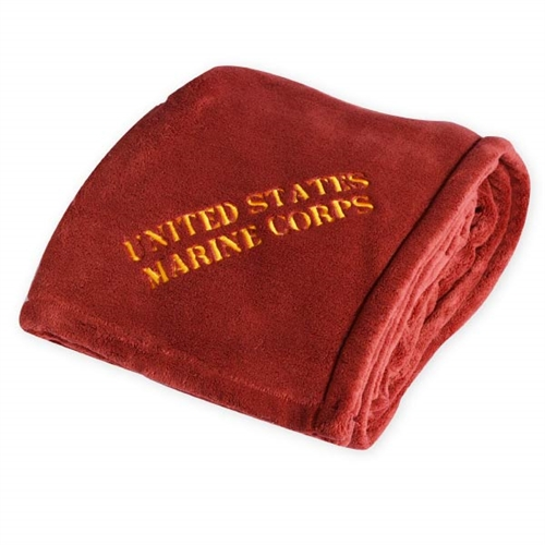 The softest fleece blankets for the five branches of the US Marines