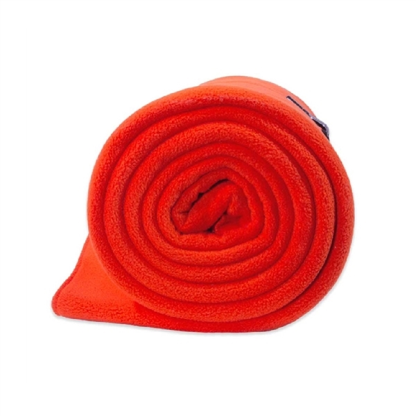 Fleece blanket perfect for emergency's and to keep in the car. Bright Orange for easy detection when in an emergency. Warm and Soft.