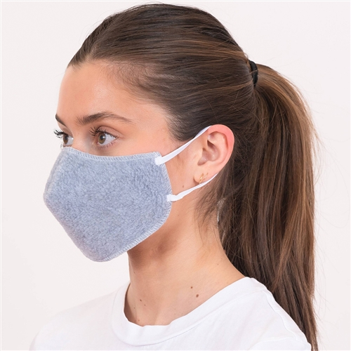 American Made Face Mask, American Blanket Company, Soft, Breathable, Comfort Fleece 5-Pack, Reusable