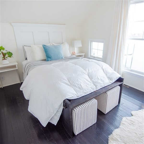 Hypo-allergenic & Anti-Microbial Comforter - Duvet | American Blanket Company | Made in USA