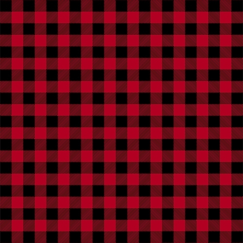 Buffalo Plaid Printed Fleece Blanket