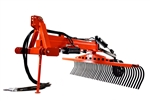 Heavy Duty Landscape Rake With Hydraulic Options