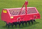 AgriMetal Tractor 3 point Hitch Turf Core Aerator, Plugger FA480TP