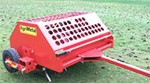 AgriMetal Turf Aerator, Core Plugger, Model FA-480TW Pull Type, Tow Type