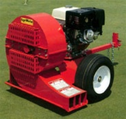 AgriMetal Gas Engine Leaf & Debris Blower, Tow/Pull Type