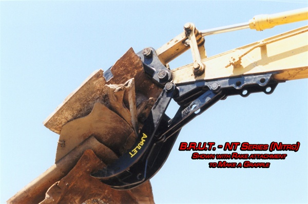Amulet B R U T Rigid Mount Adjustable Manual Bucket