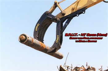 Amulet B.R.U.T. Rigid Bucket Thumb for 30 Ton Excavators
