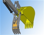 Amulet PowerClamp Hydraulic Bucket Thumb for 4.5-8 Ton Excavators