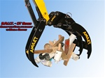 Amulet B.R.U.T. Rigid Bucket Thumb for 5-6 Ton Excavators