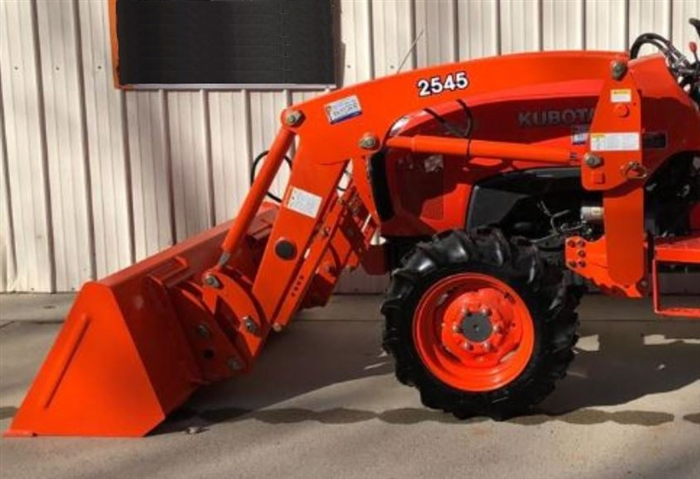 Front End Loader for Kubota L Series Compact Tractors on