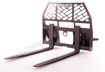 "Bradco Standard Pallet Forks for Quick Attach 48"" Tines"