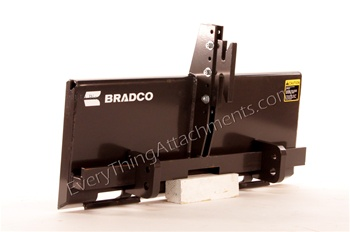 Bradco Universal Skid Steer Quick Attach to Tractor 3 Point Hitch Adapter