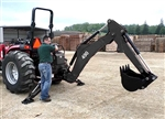 Bradco Compact Tractor Backhoe Model 490 3 Point Hitch Mounted