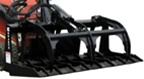 Bradco Mini Skid Loader, Skidsteer Mini Track Loader Skid Steer Brush Grapple Bucket