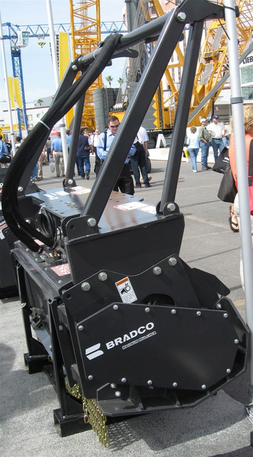 Bradco 60 Quot Magnum Mulcher Double Sided Carbide Teeth 30