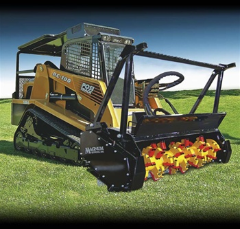 "Bradco 72"" Magnum Mulcher for Skid Steer, Skidsteer"