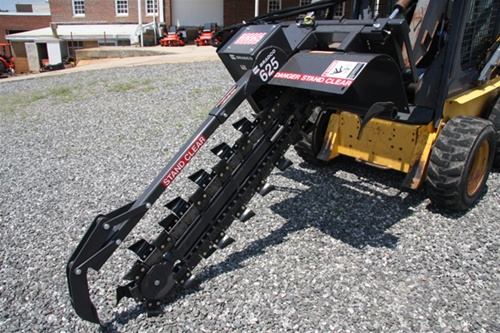 Bradco 48 Trencher Model 625 Cup Tooth on Every Station