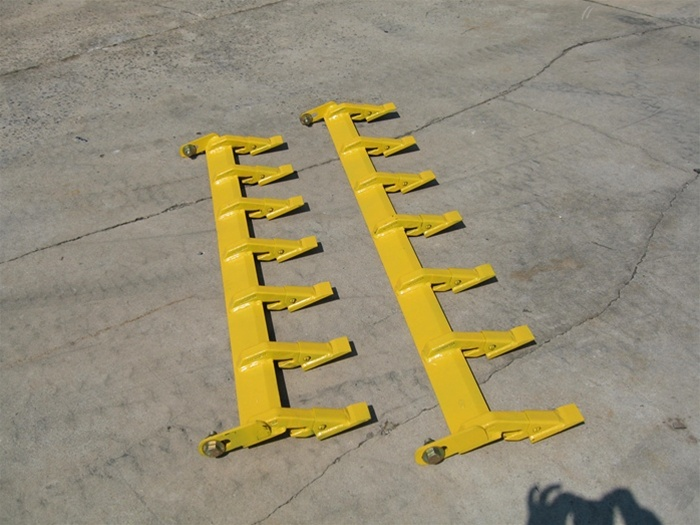 Tractor Loader Teeth : Construction attachments xtreme duty bolt on tooth bar for
