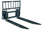 Construction Attachments Skid Steer, Skidsteer, Ball Fork Sleeves 1BF64