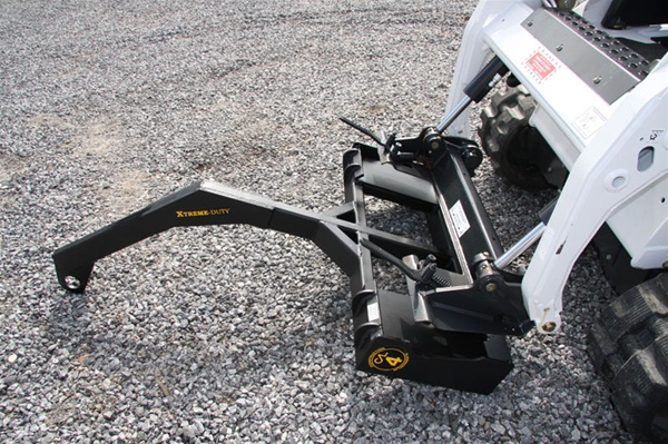 Tractor Boom Pole Design : Construction attachments treme duty skid steer