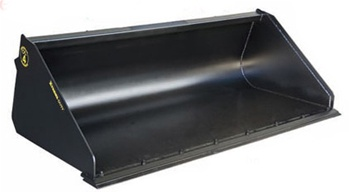 manure, mulch, or sawdust bucket by Construction Attachments
