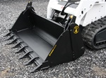 Construction Attachments Multi-Purpose X-Treme Duty 4-in-1 Bucket