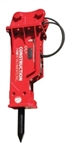 Construction Attachments, CAL, Hydraulic Breaker 450B for compact excavators