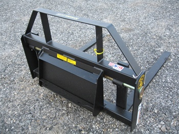 "Constructon Attachments Mini Skid Steer 42"" Pallet Forks for Universal Mini Mount"