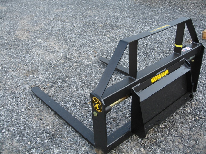 Construction Attachments Mini Skid Steer Pallet Forks