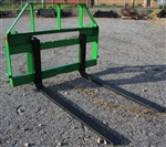 "Construction Attachments 42"" John Deere, John Deer, Quick Attach JD, Compact Pallet Forks CAL, 1PFCMPSM42"