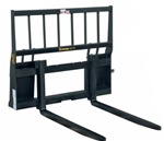 Construction Attachments X-Treme Duty Skid Steer, Skidsteer, Standard Frame Brick Fork Pallet Forks, 1PFBF