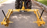 EA V2.0 Self-Aligning Round Hay Bale Unroller for 4 or 5 foot wide round bales up to 6' tall